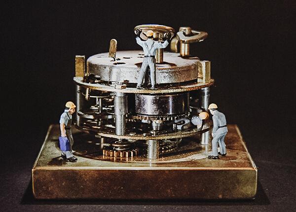 pulksteņu darbnīca